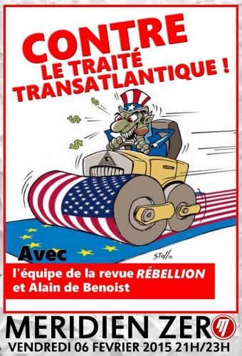 mériden zéro,alain de benoist,traité transatlantique