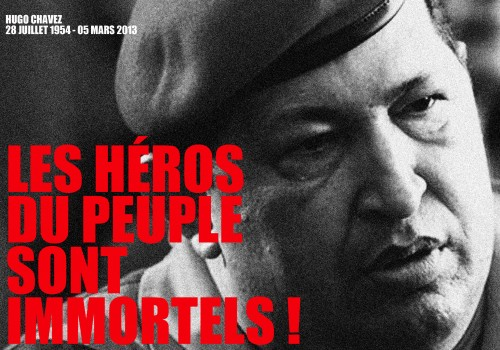 hugo chavez, révolution bolivarienne, venezuela, anti-impérialisme