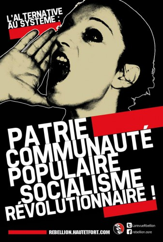 rébellion,osre,organisation socialiste révolutionnaire européenne,la patrie,la communauté populaire,socialisme révolutionnaire